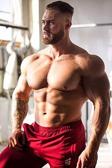 欧美肌肉型男健美chris bumstead图片