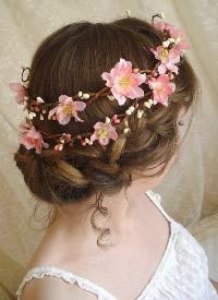 新娘花环发饰图片欣赏