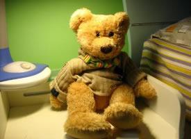 一组呆萌可爱的泰迪熊玩具图片