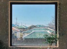 每到一个地方的窗外风景图