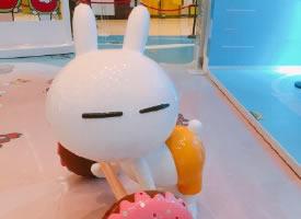 一组可爱的兔斯基图片