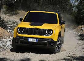 一组亮眼的黄色jeep自由侠图片