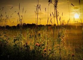 唯美夕阳西下美景图片欣赏