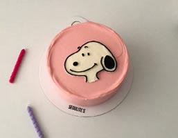 一组超级可爱的史路比蛋糕图片