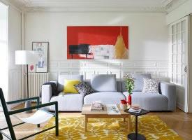 色彩混搭舒适家居设计