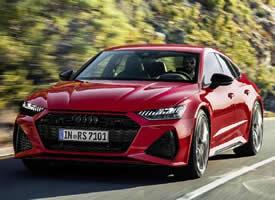 一组高贵的红色全新奥迪RS7图片欣赏