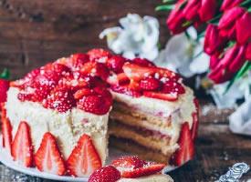 像初恋一样甜的蛋糕图片
