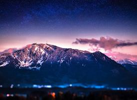 台湾雪山风景高清图片欣赏图片