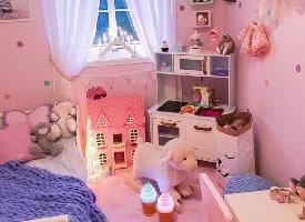 粉系温馨小仙女房间设计
