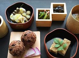 早上来一份精致的日式早餐图片