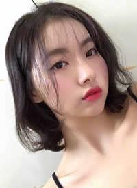 一组女生好看的韩式短发图片参考