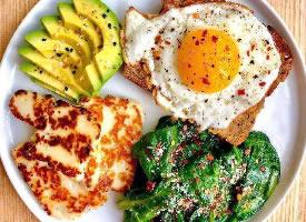 明早想吃这样的早餐