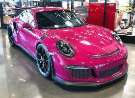 保时捷911 GT3 RS '红宝石之星',这车必须开出去浪啊