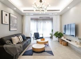 79平小资清爽三居,舒适而富有层次的家