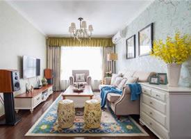 80平美式两居,温馨舒适的居住空间