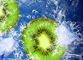 绿心猕猴桃看着养眼 吃着养胃