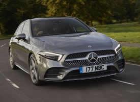 一组帅气灰色的Mercedes-Benz A250