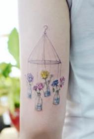 女生纹身 14款韩式唯美小清新创意女生纹身图案