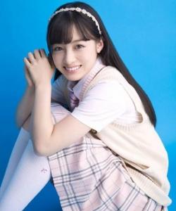 日系美女写真图片 萌妹桥本环奈清纯笑容写真图片 美女图片