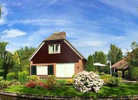 荷兰羊角村Giethoorn 梦想和你住在这里