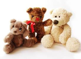 一组搞怪可爱的泰迪熊图片