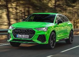 全新奥迪RS Q3,让人眼前一亮的绿色