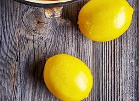 一组清凉好看的柠檬图片欣赏