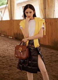 古力娜扎初秋时尚写真图片