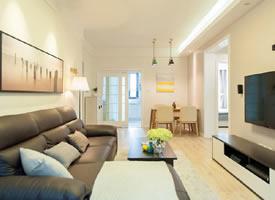 76㎡现代简约风格家居装修设计图欣赏