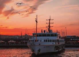 伊斯坦布尔的黄昏
