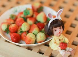 一组好看好吃的小草莓图片欣赏