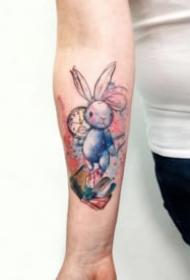 纹身水彩图 9款漂亮的水彩色纹身作品图案