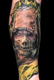 一组酷酷的写实手臂纹身图案欣赏