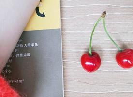 一组鲜红的成熟樱桃图片欣赏