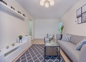 现代简约风格的客厅装修设计图片