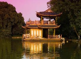 诗情画意的杭州西湖风景欣赏