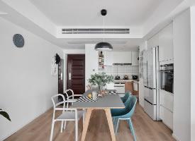 干净整洁的现代简约风格装修的家