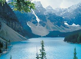 加拿大罗布森山风景图片桌面壁纸