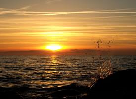 大自然夕阳美景图片桌面壁纸