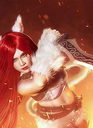 英雄联盟cosplay人物卡特琳娜图片