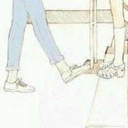萌萌哒的个性卡通情侣头像图片