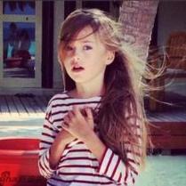 可爱的欧美小女孩qq个性头像图片