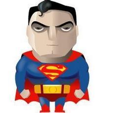 欧美卡通动漫人物qq超人头像图片