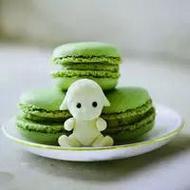 小清新抹茶系列甜品qq意境头像图片