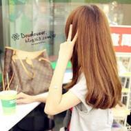 长发飘飘的微信美少女背影头像图片