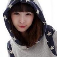 微博上韩范可爱萌妹子微信头像图片