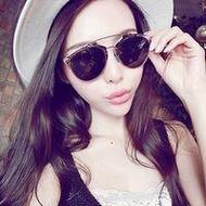 戴墨镜超拽炫酷的女生贴吧头像大全