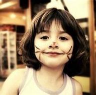 欧美卡哇伊小女孩微信个性头像图片