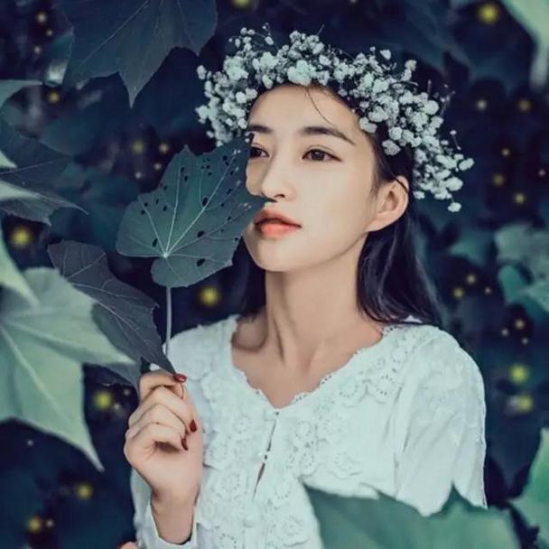 清纯漂亮的森系女生qq头像图片大全