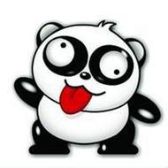 可爱卡通熊猫qq搞笑头像图片大全